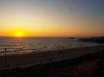 水平線に沈む太陽